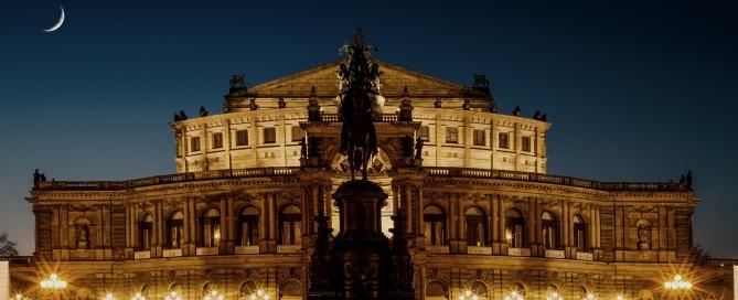 Sie Semperoper in Dresden - Dresden gilt vielen als schönste Stadt Deutschlands