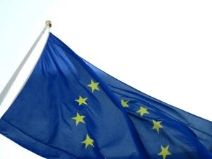 EU Flagge - Für Eu Bürger ist die Einreise nach Deutschland einfach