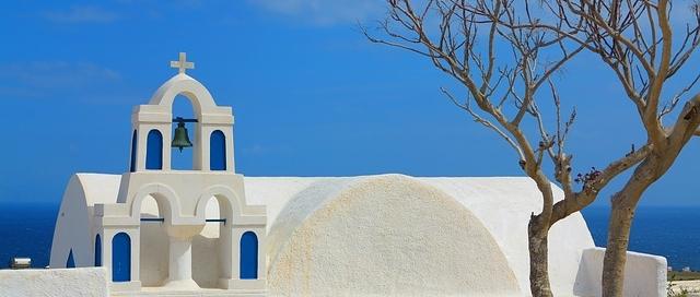 Griechenland weiter beliebt bei Touristen - hier Santorini