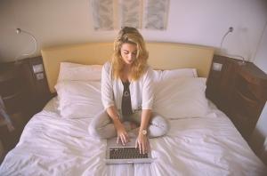 Mit dem Laptop im Hotel buchen