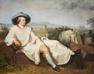 Goethe während seiner Italienreise