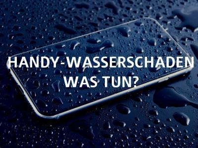 iPhone voller Wassertropfen - Handy-Wasserschaden was tun?