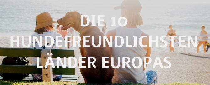 Urlaub mit Hund geplant? Wir zeigen Dir die 10 besten Länder in Europa
