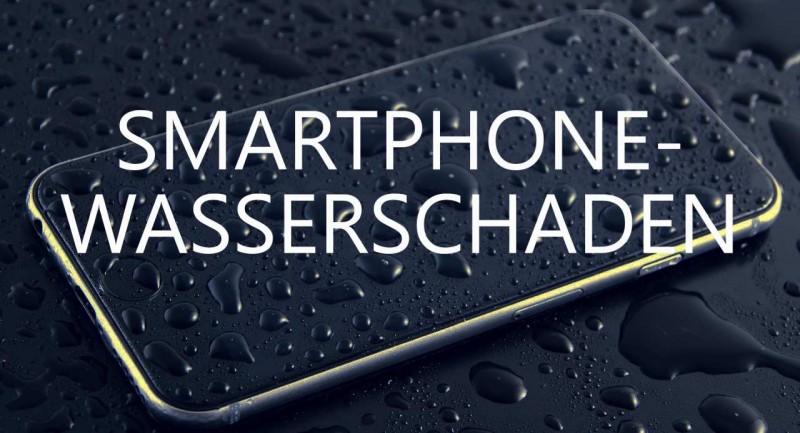 Smartphone mit Schriftzug.